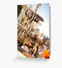Chip & Dale Greeting Card