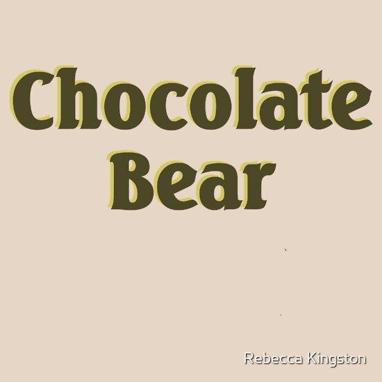 TShirtGifter presents: Scrubs Chocolate Bear