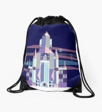 Ice Castle Drawstring Bag