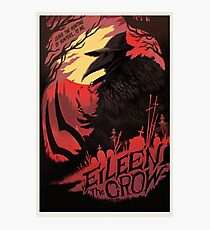 Eileen The Crow Movie Poster Photographic Print