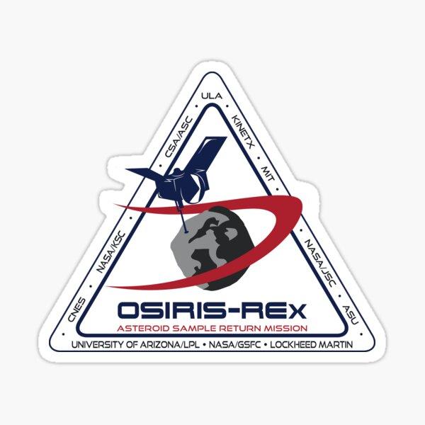 Osiris Rex - Science Partners Logo Sticker
