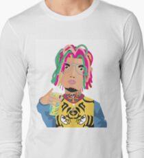 bd924af762 Camiseta de manga larga Lil Pump Gucci Gang