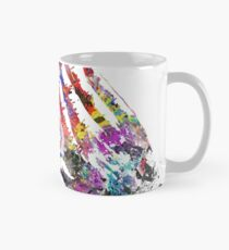 The all seeing eye, the all seeing eye with hand, watercolor all seeing eye Mug