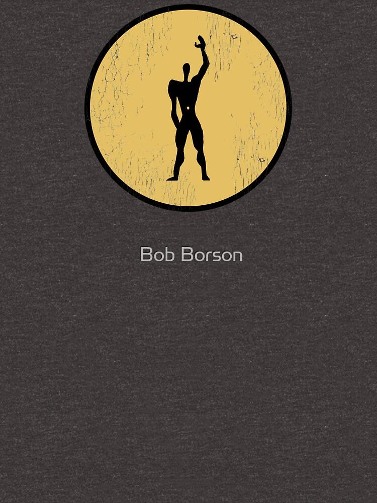 Modular Man - Le Corbusier by bobborson