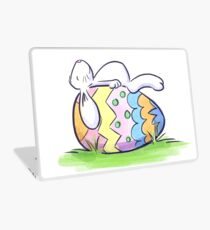 Sleeping Easter Bunny Laptop Skin