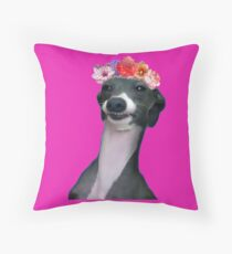 There she is  Throw Pillow