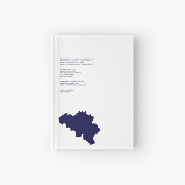 The Other Side of Belgium Hardcover Journal