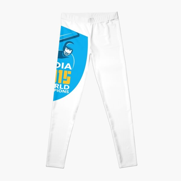 India Cricket 2015 World Champions Shield Leggings