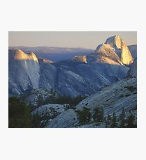 Evening Sunlight, Olmsted Point Photographic Print