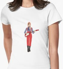 David Bowie Women's Fitted T-Shirt