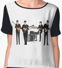 The Beatles Chiffon Top
