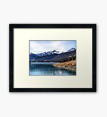 Abraham Lake Framed Print