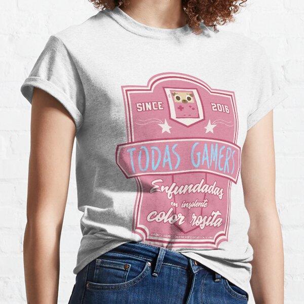 Enfundadas en insolente color rosita Camiseta clásica