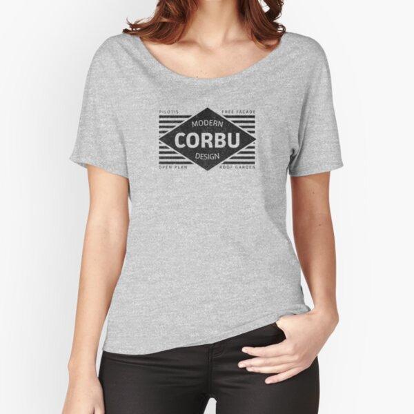 Modern Design - Corbusier Relaxed Fit T-Shirt
