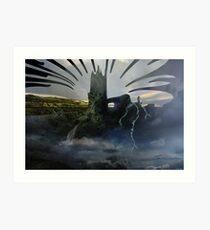 Cloud Conjurer Art Print