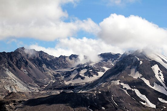 Mount St Helens lava dome 2 by Dawna Morton