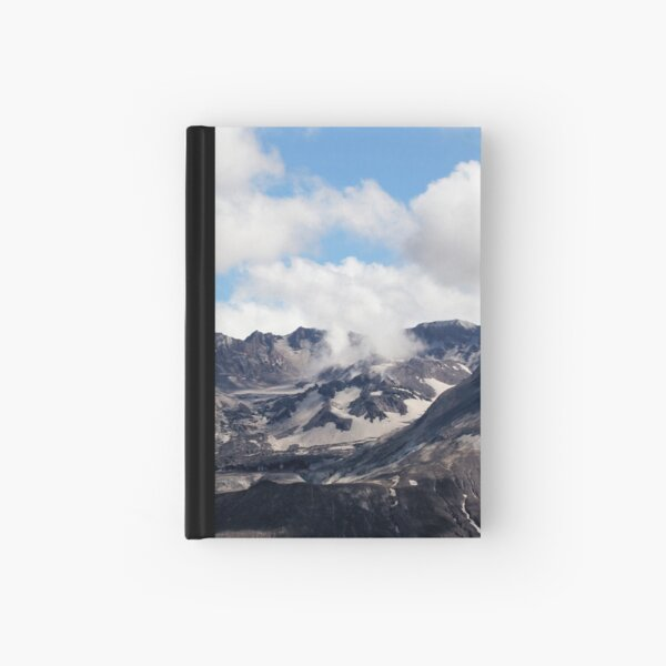 Mount St Helens lava dome 2 Hardcover Journal