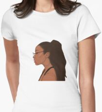 Geek Girl  Women's Fitted T-Shirt