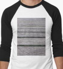 Hardwood, New York, Manhattan, Brooklyn, New York City, architecture, street, building, tree, car,   Men's Baseball ¾ T-Shirt