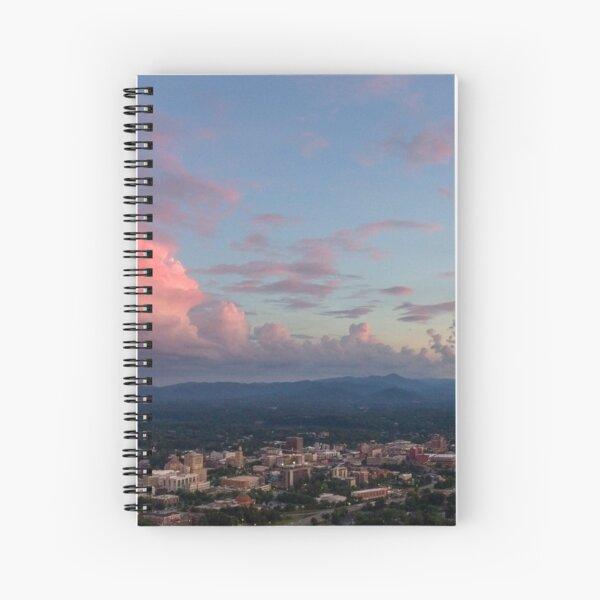 Asheville Delightful Dusk! Spiral Notebook