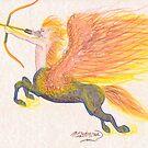 Fire Centaur by Stephanie Small