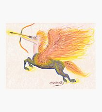 Fire Centaur Photographic Print