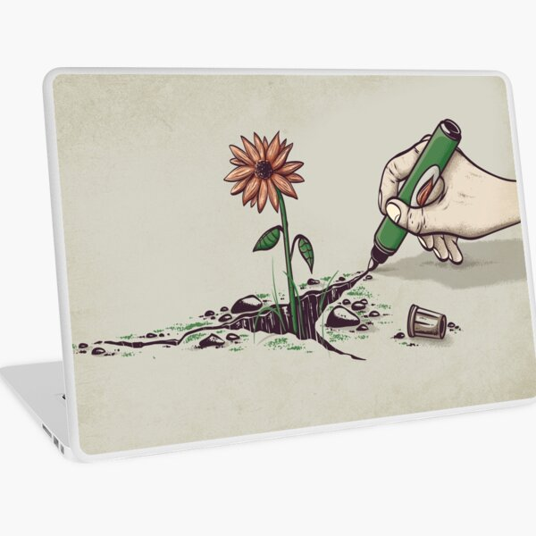 Nature Pen Laptop Skin