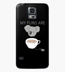 "Funda/vinilo para Samsung Galaxy Juegos de palabras ""Koala Tea"""