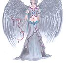 Tariel Woman Angel by Stephanie Small