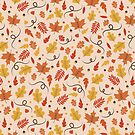 Fall Pattern by latheandquill