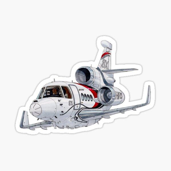 Dassault 8X Sticker
