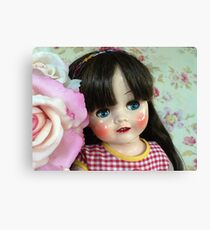 Restored 50s doll Canvas Print
