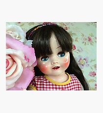 Restored 50s doll Photographic Print