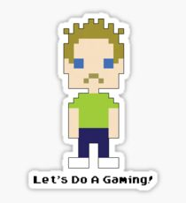 Let's Do A Gaming Sticker! Sticker