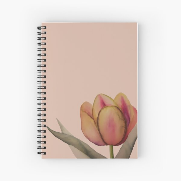 Psychedelic Tulip Spiral Notebook