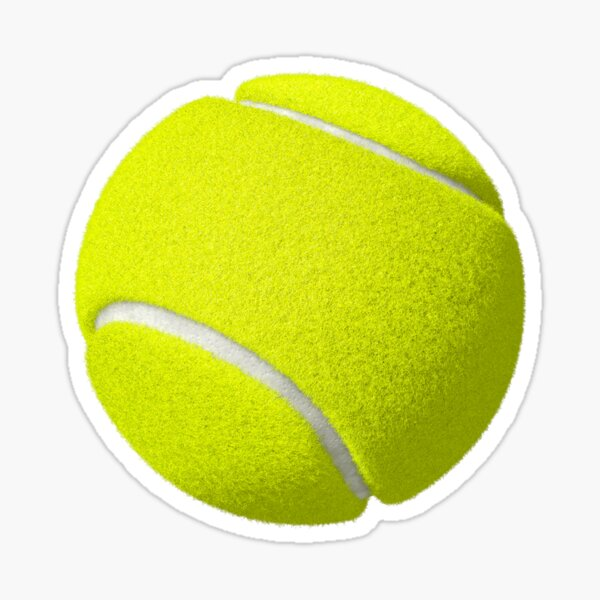 Tennis ball Sticker Sticker