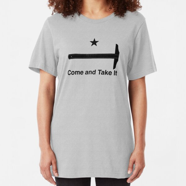 Architectural T Square - Come and Take It Slim Fit T-Shirt