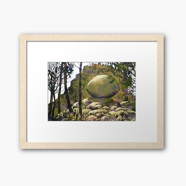 Another Frosty Morning Framed Art Print