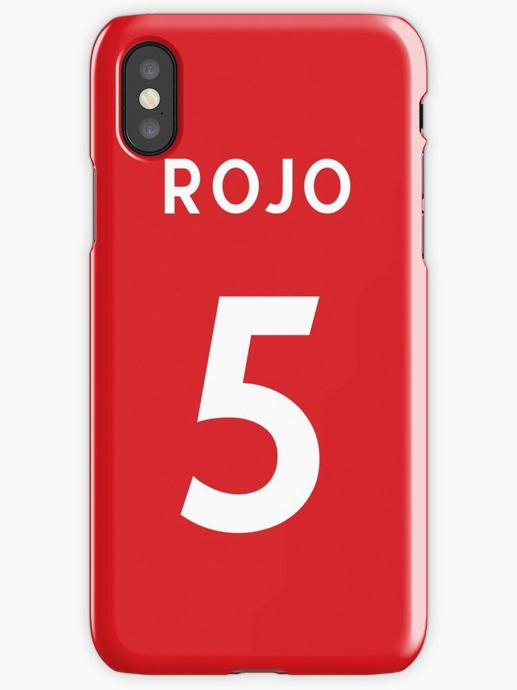 Vinilos y fundas para iPhone «Marcos Rojo - Manchester United - 2017 ...