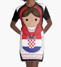 Kroatien Matroska T-Shirt Kleid