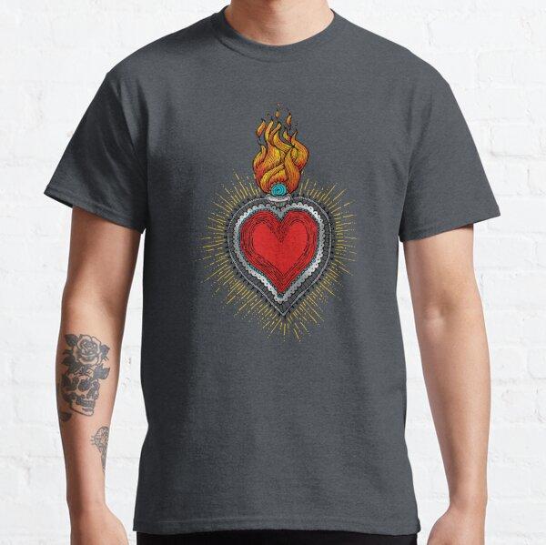 sacred heart drawing Classic T-Shirt