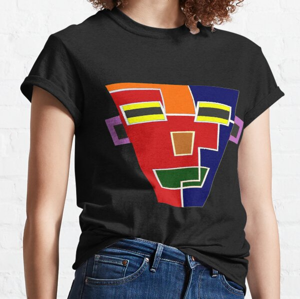 Top Seller 7 (Facemadics colorful contemporary abstract face) Classic T-Shirt