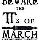 Funny Shakespeare Pi Day Beware the Pi's of March by electrovista