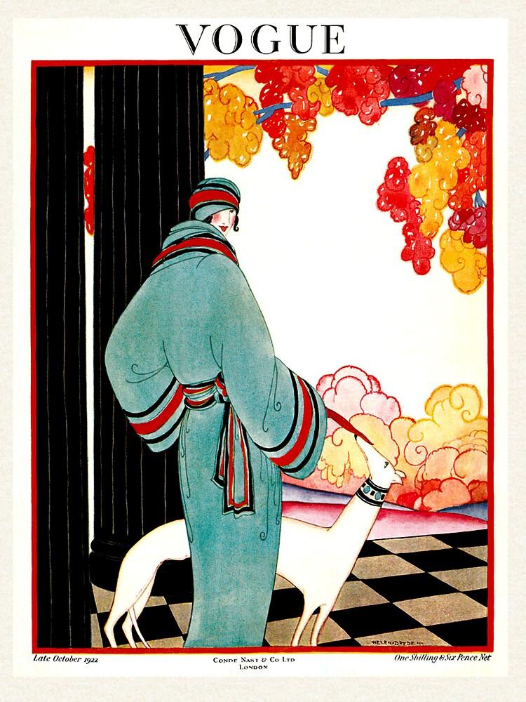 VOGUE: Vintage 1922 Publicidad de impresión de posterbobs