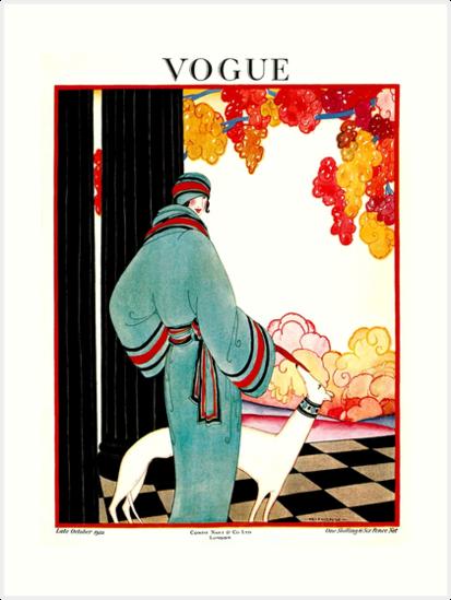 «VOGUE: Vintage 1922 Publicidad de impresión» de posterbobs