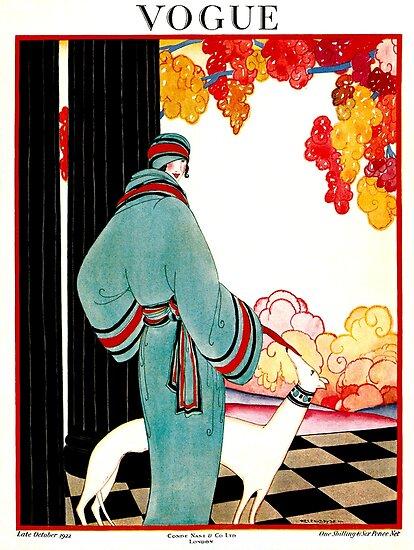 VOGUE: Vintage 1922 Werbung Print von posterbobs