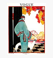 VOGUE : Vintage 1922 Advertising Print Photographic Print