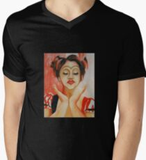 Harlequin Men's V-Neck T-Shirt