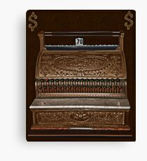 (✿◠‿◠) VINTAGE CASH REGISTER TWO (✿◠‿◠) Canvas Print