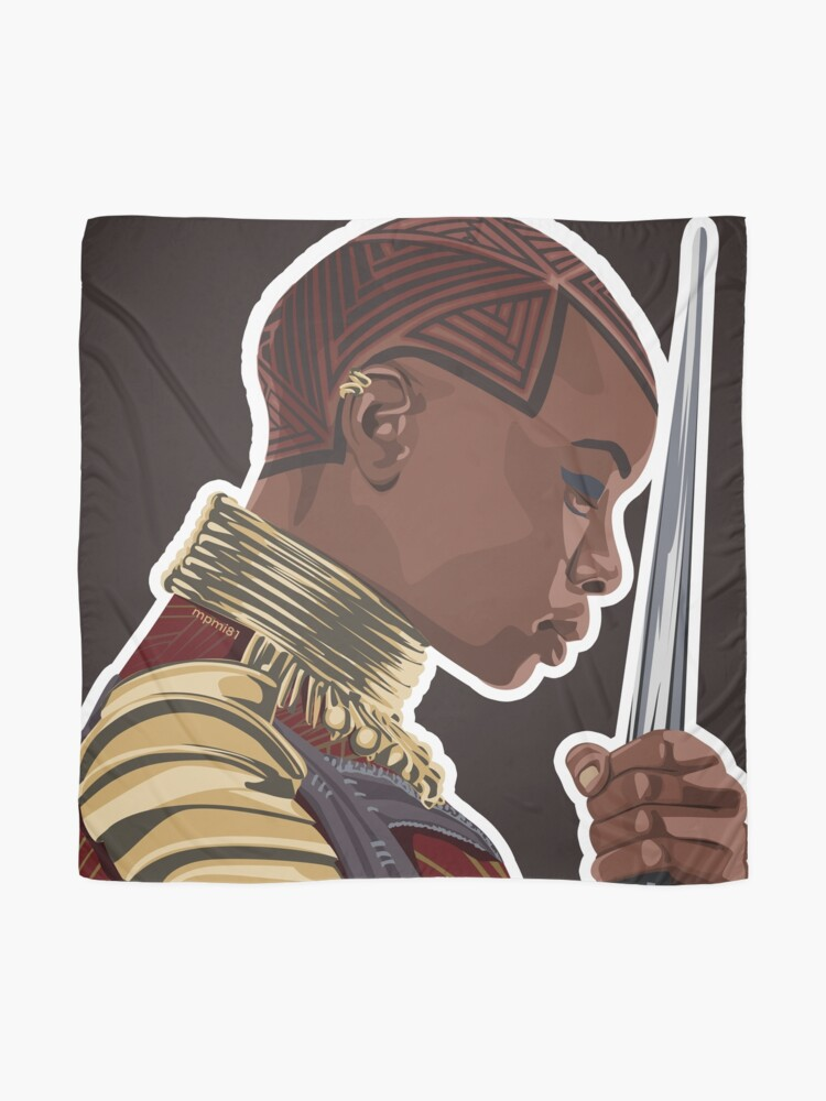 Alternate view of Okoye Scarf